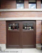 Frank lloyd wright prairie school architecture robie for Garage door repair round lake il