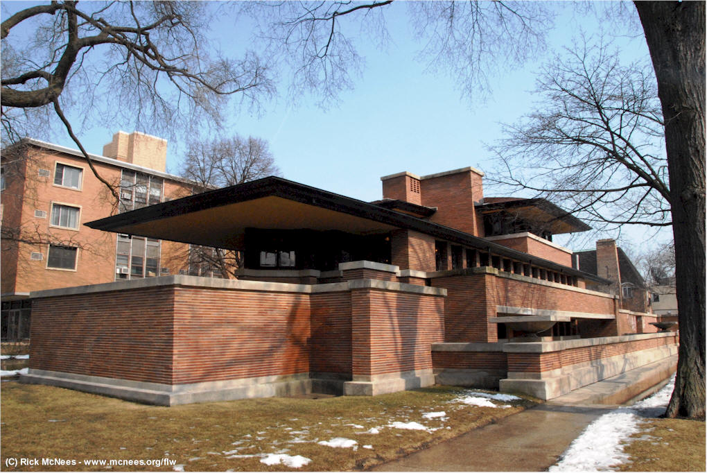 ... Frank Lloyd Wright Architecture In Chicago   Robie House On  McNees.org/flw ...