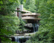 Frank Lloyd Wright's Fallingwater, Mill Run, PA