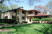 Francis Little House by Frank Lloyd Wright in Peoria, Illinois
