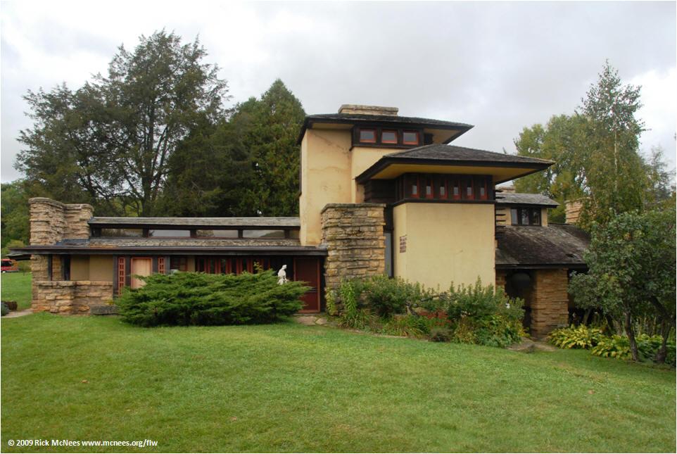Rick's WrightSite- Frank Lloyd Wright Priaries Style Architecture