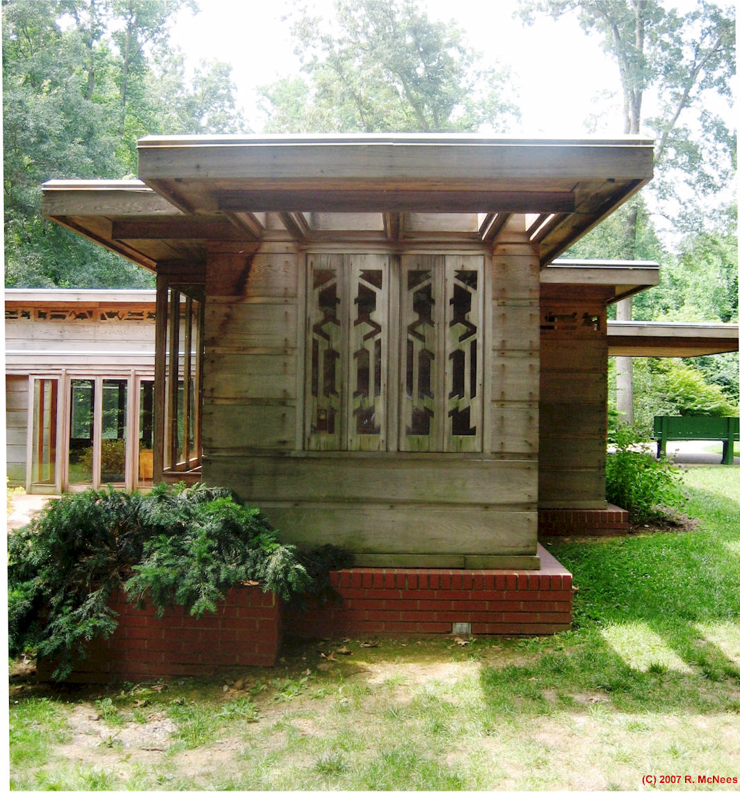 Rick\'s WrightSite- Frank Lloyd Wright Priaries Style Architecture
