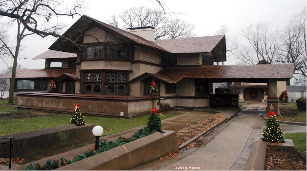 Frank Lloyd Wright Prairie Houses frank lloyd wright prairie school architecture in kankakee