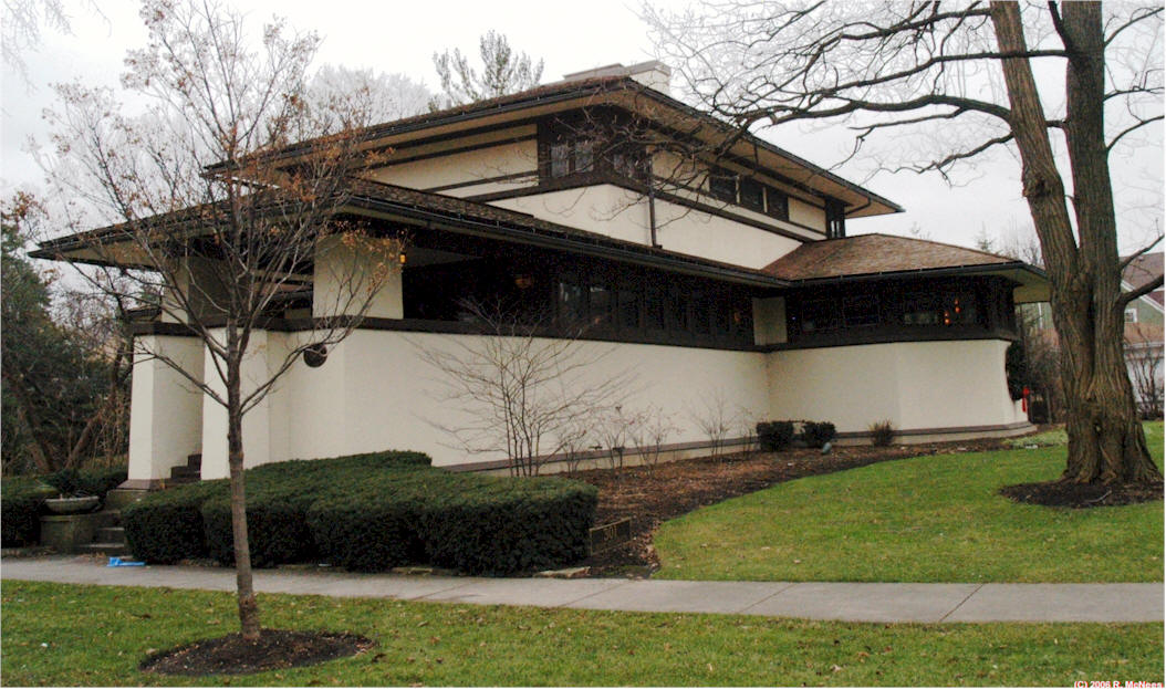 Frank lloyd wright style architecture home design for Henderson house