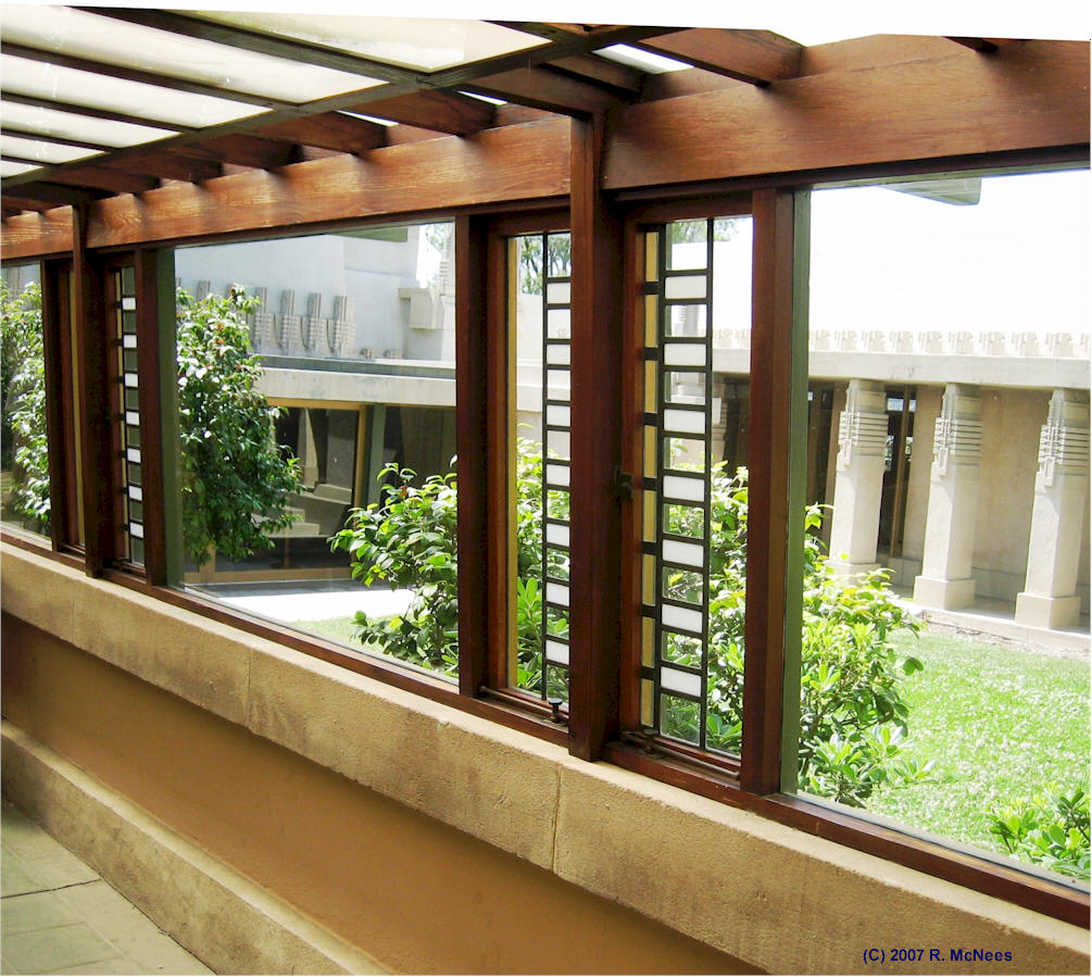 100 hollyhock house house tour architectural homes for Atrium windows