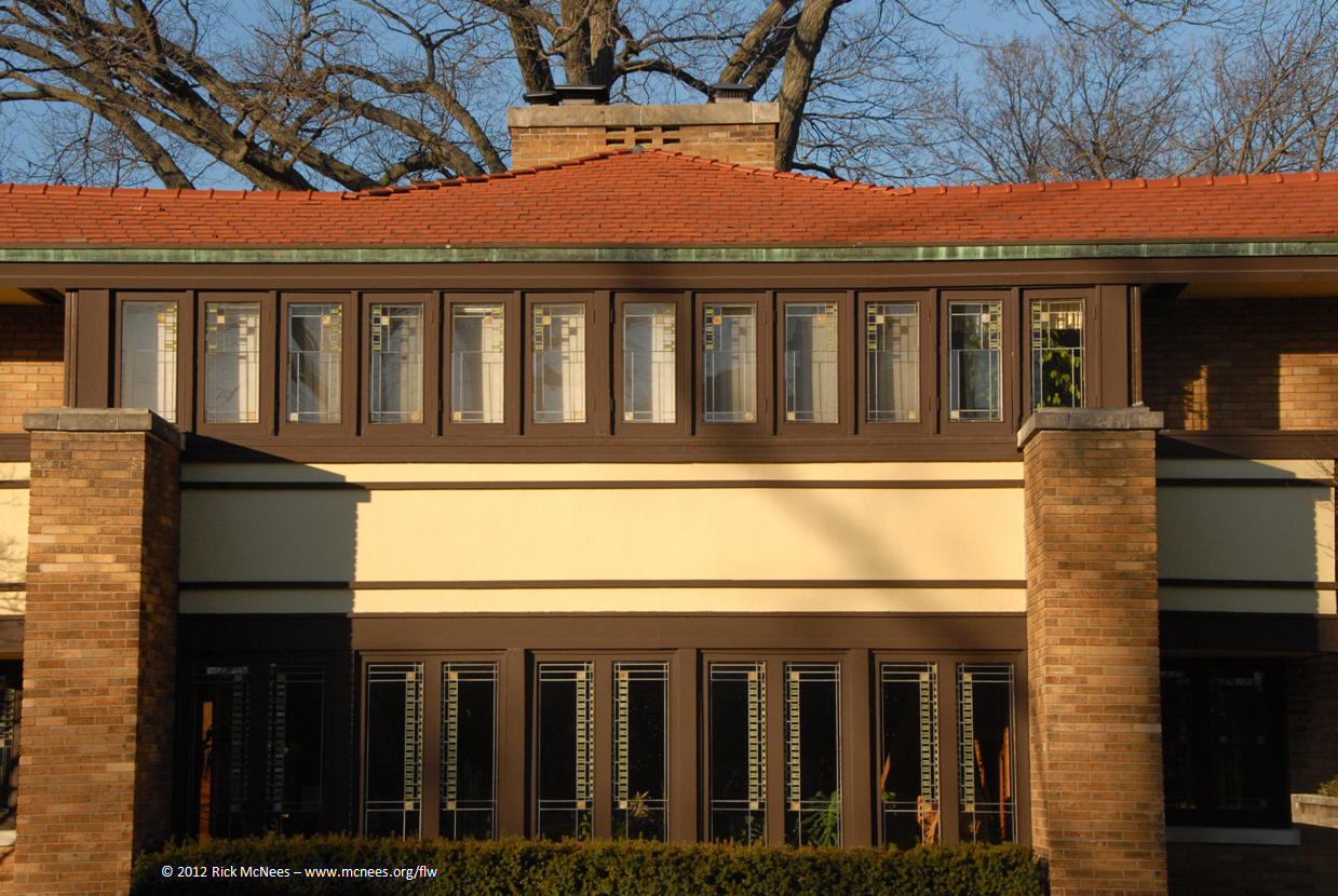 rick s wrightsite frank lloyd wright priaries style architecture florence irving house 2 miliken place decateur il