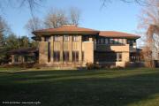 Prairie architecure in Decateur, IL - Robert Mueller House - 1 Miliken Place