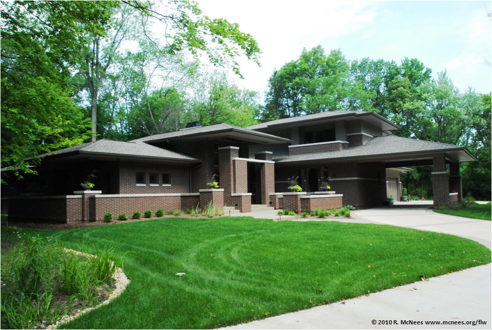 Frank Lloyd Wright And Prairie School Arhictecture In