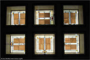 Frank Lloyd Wright Unity Temple Sanctuary Ceiling Skylights