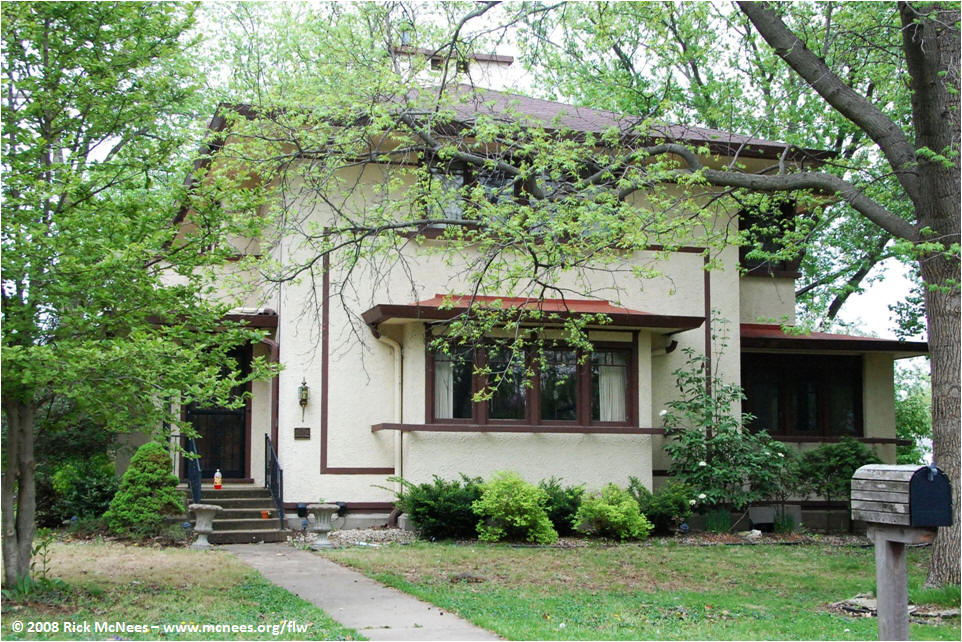 Frank lloyd wright and prairie school architecture in west - Frank lloyd wright maison ...