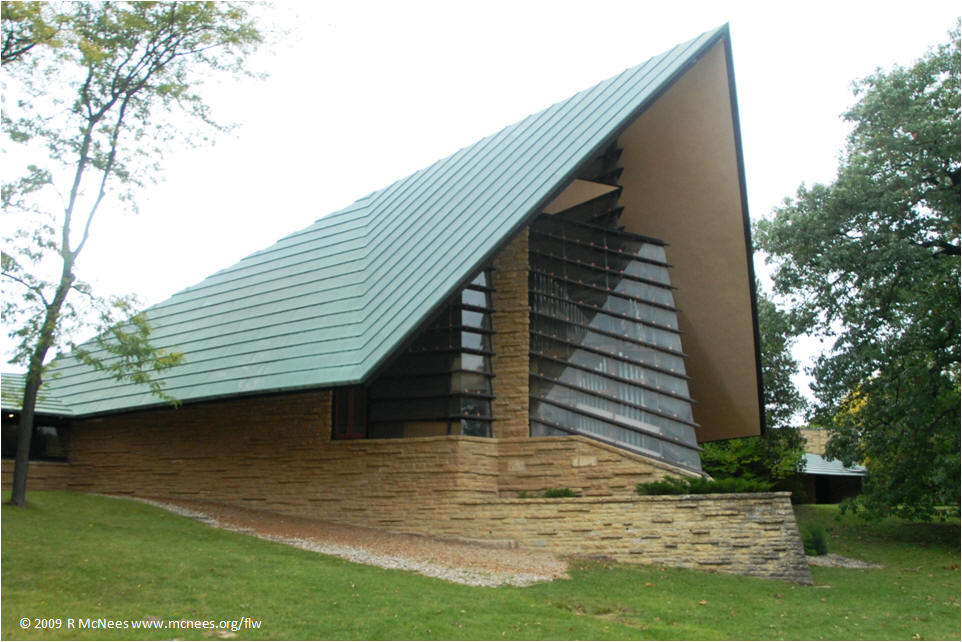 Great Frank Lloyd Wright Architecture   Unitarian Meeting House In Madion,  Wisconsin ... Idea