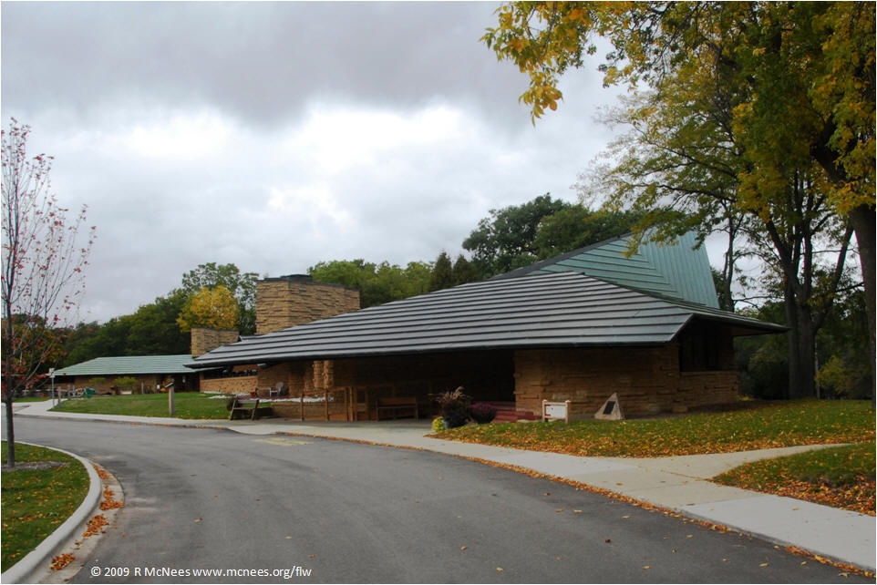 Frank Lloyd Wright Architecture In Madison, WI   Unitarian Meeting House ...