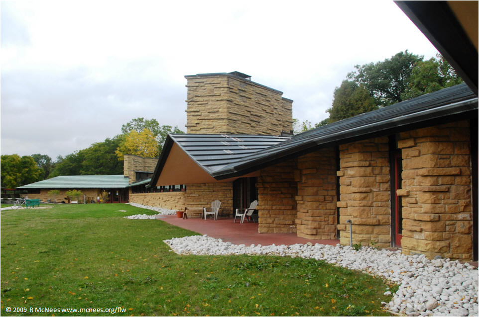 ... Frank Lloyd Wright Architecture   Unitarian Meeting House, Madison,  Wisconsin ...