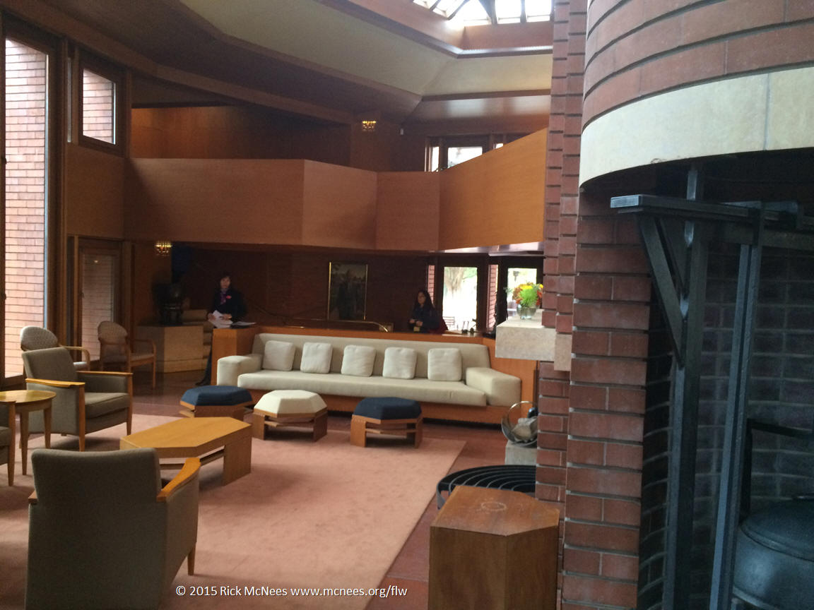 ... FLW Architecture   SC Johnson Wingspread Great Room   Racine, Wisc