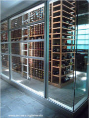 Zealous Restaurant Wine Cellar