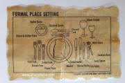 Formal Dinner Place Setting