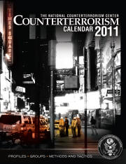 National Counter Terrorism Calendar 2011