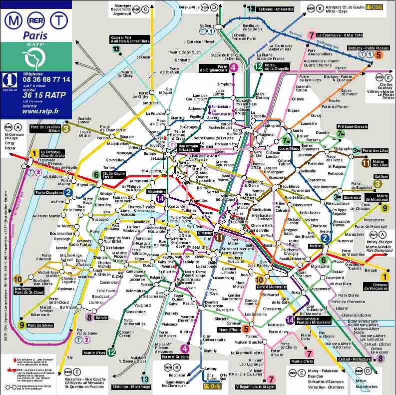 Paris Subway Map Interactive.Paris Metro Map Interactive Woestenhoeve