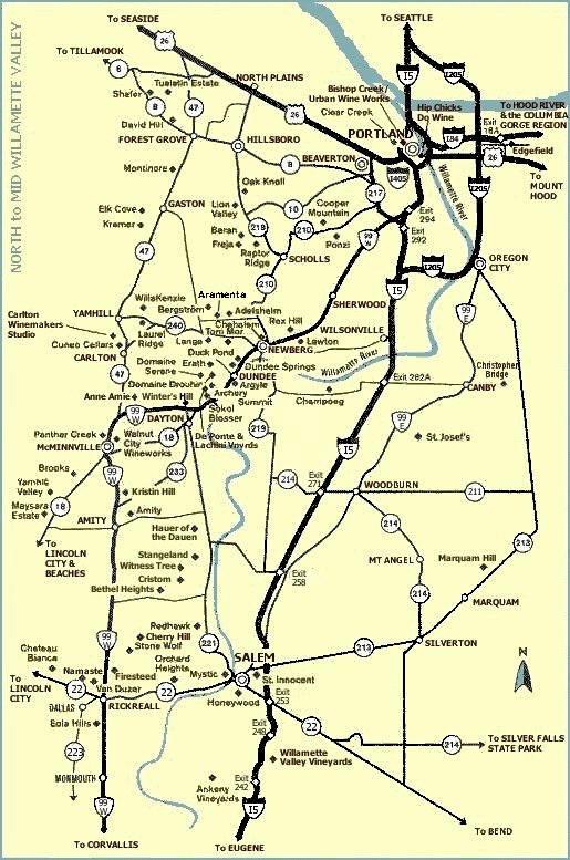 Wine Country Maps On Rick39s WineSite  McNeeswinesite