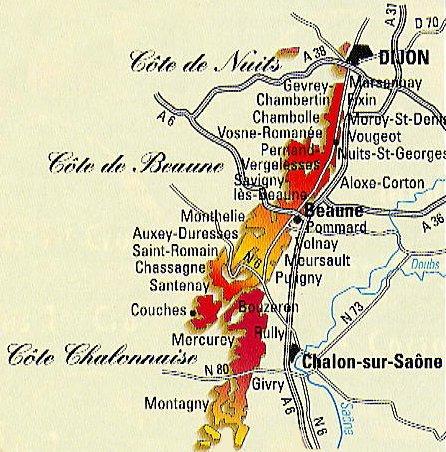 map of loire vineyards