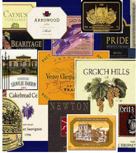Wine Labels Library on Rick's WineSite