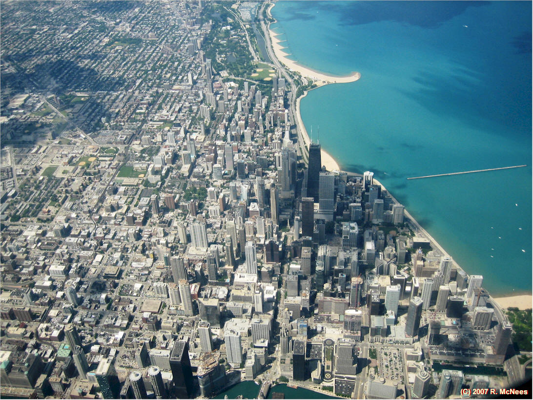 Chicago Links Page - Chicago map satellite