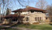 Prairie Architecture in Decateur, IL - Robert Mueller House 1 Miliken Place