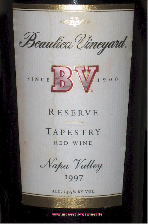 Tapestry Reserve Tapestry Reserve 1997