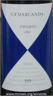Gaja Ca'Marcanda Promis 2002