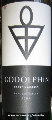 Ben Glaetzer Barossa Valley Godolphin Shiraz 2005