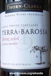 Thorne-Clark Terra Barossa Shiraz 2006