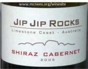 Jip Jip Rock Limestone Coast Australian Cabernet Shiraz 2005