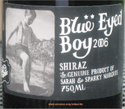 Mollydooker Blue Eye'd Boy 2006 on McNees.org/winesite