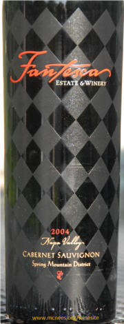 Fantesca Estate & Winery Cabernet Sauvignon 2004 bottle