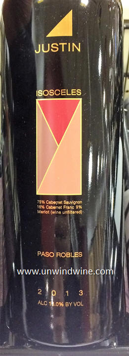 Isosceles of course if the flagship wine of Justin Vineyards and Winery since 1981 from the mountains above Paso Robles between the City on Hwy 101 and the ... & UnwindWine: Justin Isosceles u0026 Justification Paso Robles Red Wines 2013