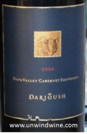 Darioush Vineyards Napa Valley Cabernet Sauvignon 2000