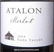 Atalon Napa Valley Merlot 2003