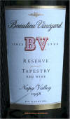 Beaulieu Vineyard Tapestry Reserve 1998