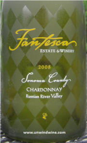 Fantesca Russian River Valley Chardonnay 2008