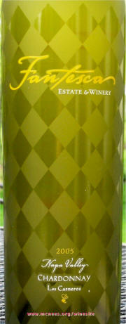 Label - Fanesca Estate Chardonnay 2005