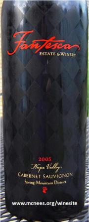 Fantesca Estate Winery Cabernet Sauvignon 2005 bottle