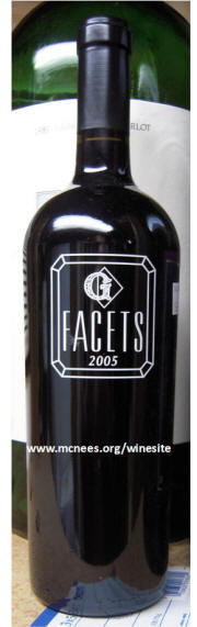 Gemstone Facets Napa Red Wine Blend 2005
