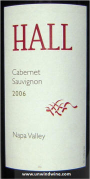 Hall Napa Valley Cabernet Sauvignon 2006