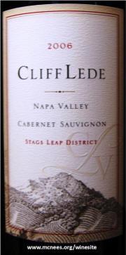 Cliff Lede Stags Leap District Cabernet Sauvignon 2006