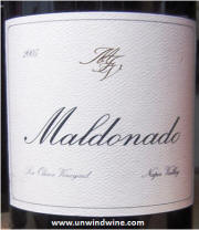 Maldonado Los Olivos Vineyard Napa Valley Pinot Noir 2005