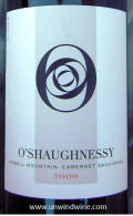 O'Shaughnessy Howell Mountain Cabernet Sauvignon 2000