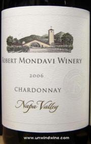 Robert Mondavi Napa Valley Chardonnay 2006