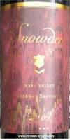 Snowden Vineyards Napa Valley Cabernet Sauvignon 2001