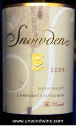 Snowden Ranch Napa Valley Cabernet Sauvignon 2009