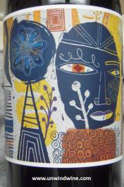 Tuck Beckstoffer 'Melee' Grenache 2010 Center Label